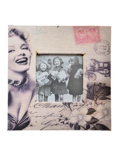 DecoTown Marilyn Monroe Fotoğraf Çerçevesi Renkli